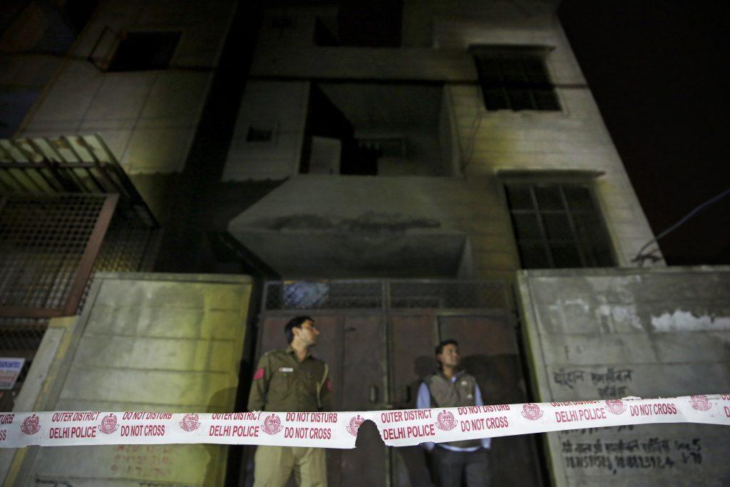 firecracker factory, India, New Delhi