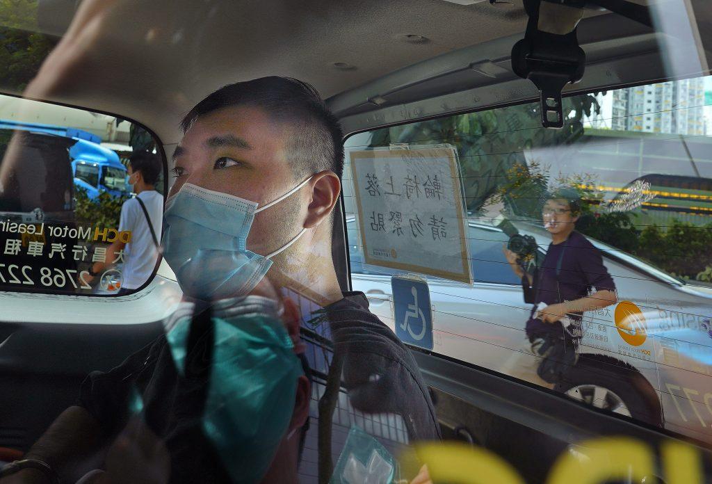 hong kong protester sentenced