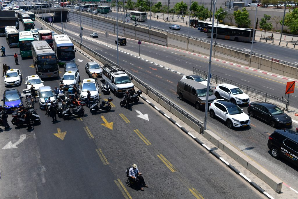 israel disabled protest