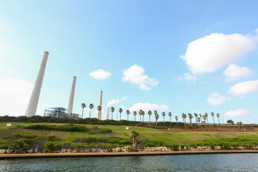 israel greenhouse gas emissions