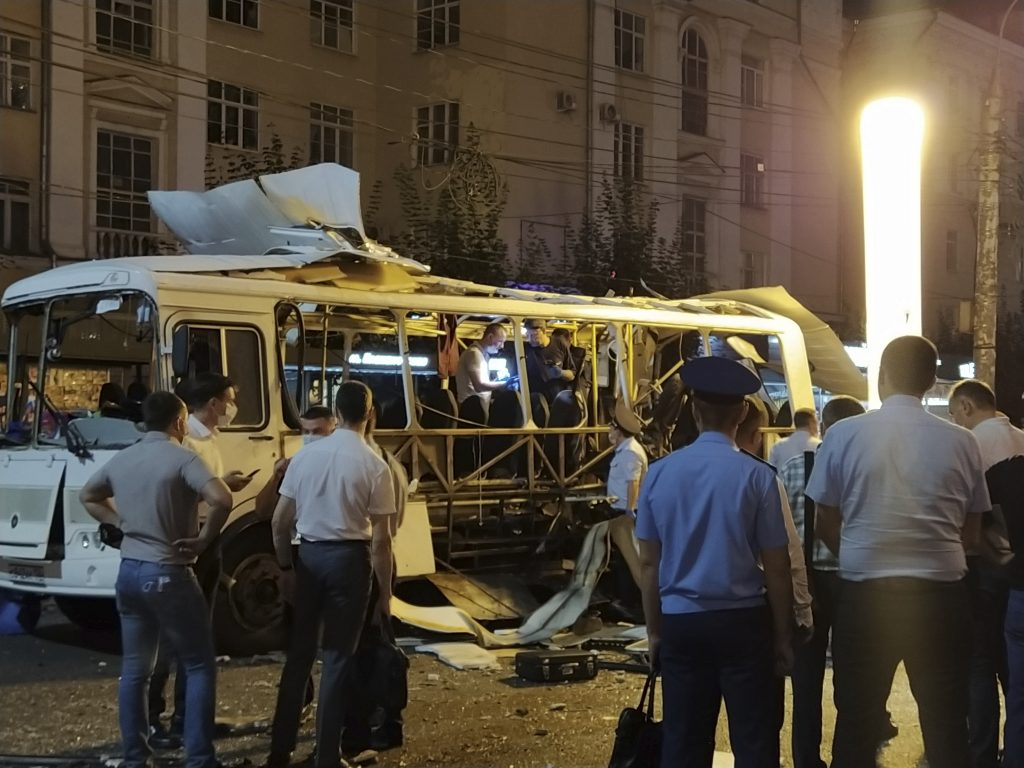 bus explosion russia