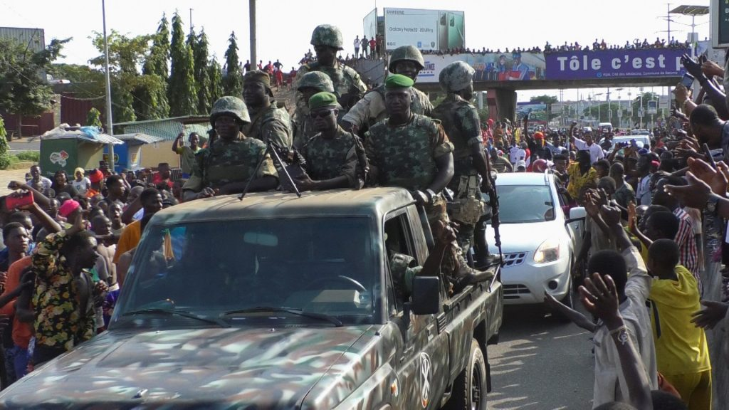 guinea uprising