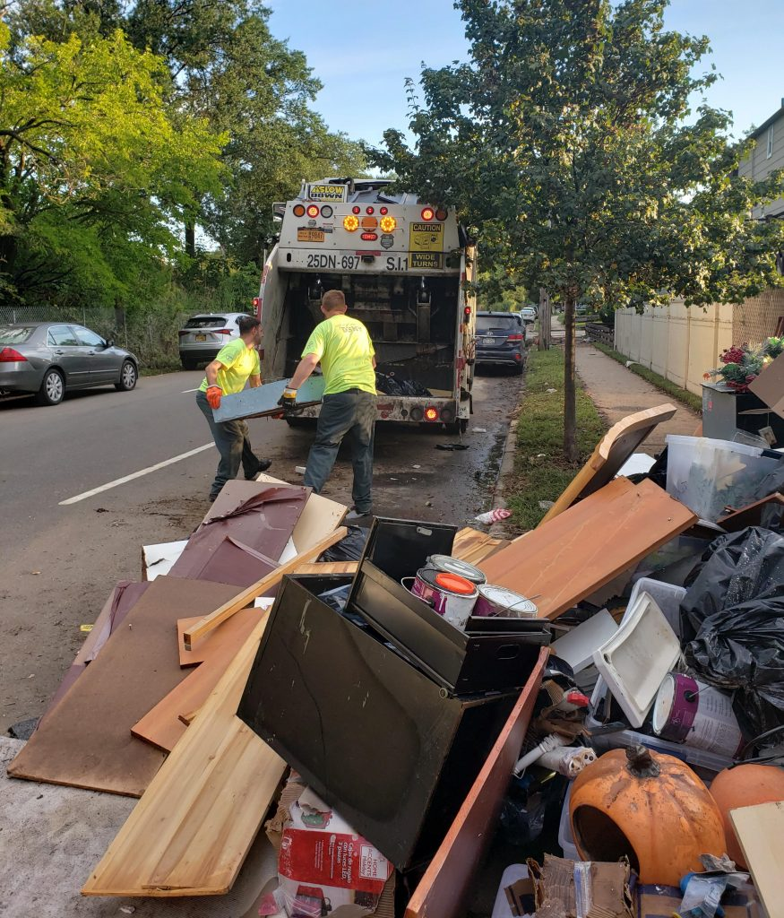 nyc trash pickup